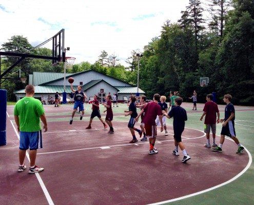 Basketball Camp for Boys | Camp Tecumseh