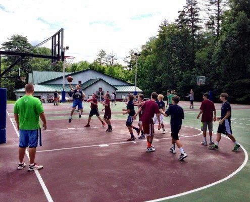 Basketball Camp for Boys   Camp Tecumseh