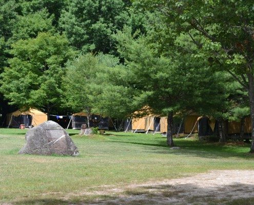 Boys Camp Outdoor Activities | Camp Tecumseh