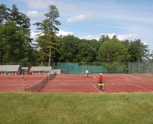 Tennis Camp for Boys | Camp Tecumseh, NH