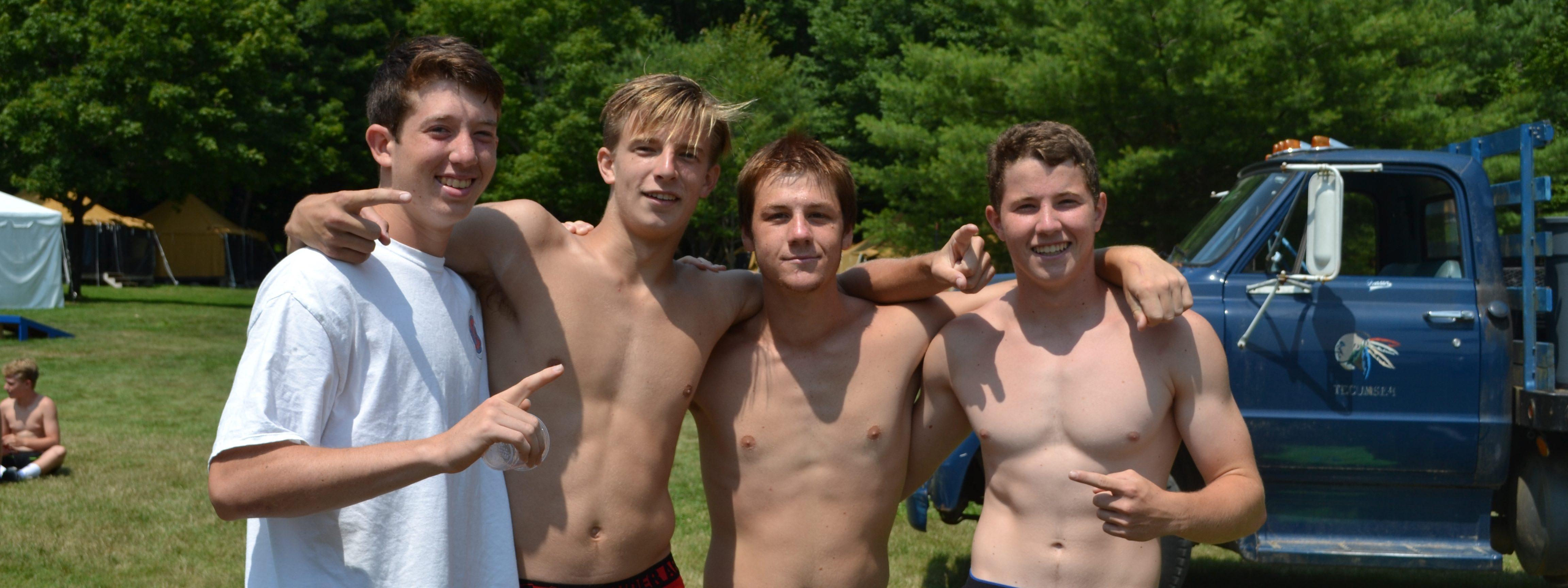 Boys Camp | Residential Boys Camp | Camp Tecumseh